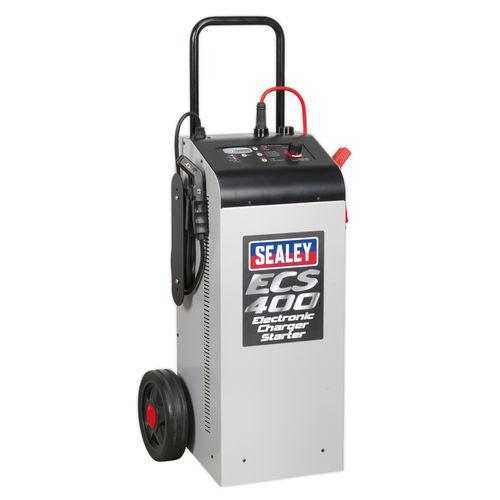 Sealey ECS400 Electronic Charger Starter 75/400A 12/24V