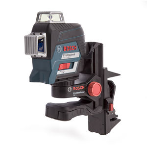 Bosch GLL380-C Professional Red Beam Plane Laser with Gedore 26 Piece Accessory Set in L-BOXX (1 x 2.0Ah Battery)