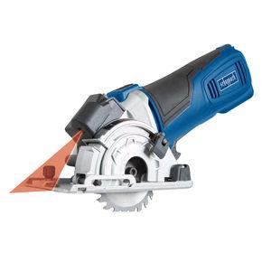 Scheppach PL285 Plunge Saw with 3 x Blades, 3 x 420mm Rails and Mitre Base 240V