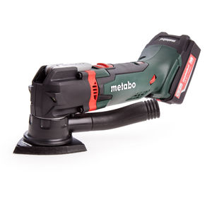 Metabo MT18LTX 18V Cordless Oscillating Multitool (2 x 5.2Ah Li-ion Batteries & Fast Charger) In Carry Case