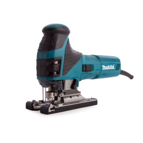 Makita 4351FCT Jigsaw Orbital Action with Tool-less Blade Fixing and Job Light 110V