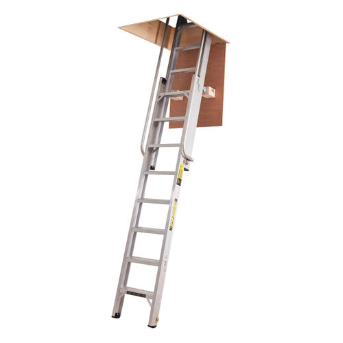 Youngman 306340 Deluxe Loft Ladder 2 Section 14 Tread