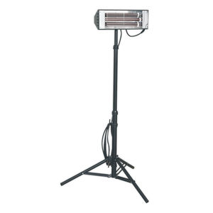 Sealey LP1500 Infrared Quartz Heater - Tripod Mounted 1500w/240v