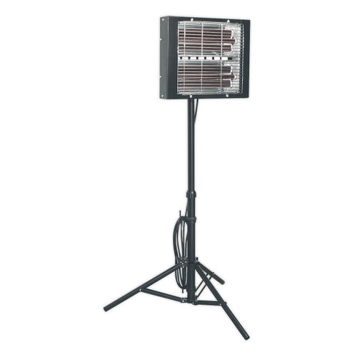 Sealey LP3000 Infrared Quartz Heater - Tripod Mounted 3000w/240v