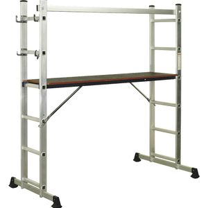 Sealey ASCL2 Aluminium Scaffold Ladder 4-way En 131