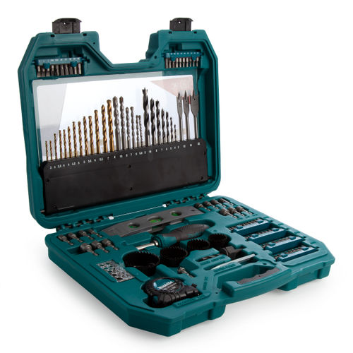 Makita P-90370 Trade Pro Combination Power Drill Accessory Set (120 Piece)