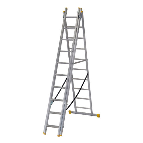 Werner 72529 3.0m Box Section Triple Extension Plus Ladder (x4)