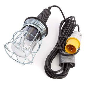 Brennenstuhl 1176893 Rubber Handlamp 5m H05VV-F 2x0,75 60W E27 110V