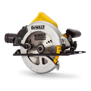 Dewalt DWE560K Compact Circular Saw 184mm in Kitbox (65mm Depth Of Cut)