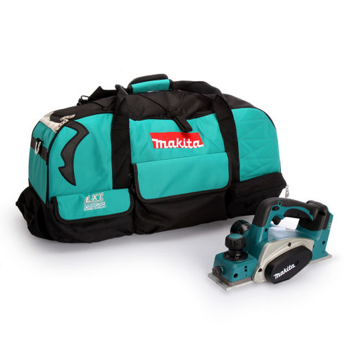 Makita DKP180Z Planer 82mm (Body Only) + 831279-0 Duffel Toolbag