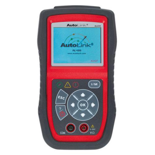 Sealey AL439 Autel EOBD Code Reader - Electrical Tester
