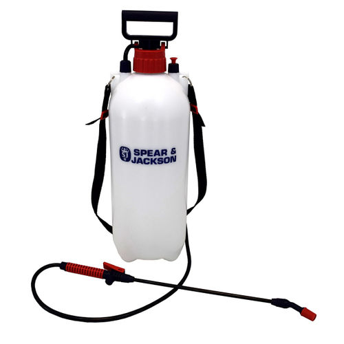 Spear & Jackson 8LPAPS 8 Litre Pump Action Pressure Sprayer