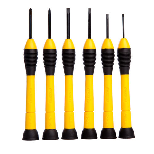 Stanley 0-66-052 Precision Instrument Screwdriver Set 6 Piece