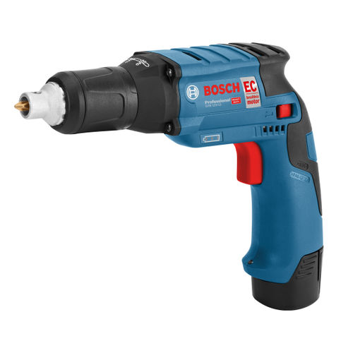 Bosch GTB 12V-11 Professional Heavy Duty Drywall Screwdriver (2 x 2.5Ah Batteries)