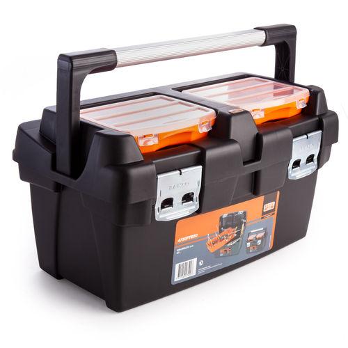 Bahco 4750PTB50 Heavy Duty Plastic Tool Box - 480 x 280 x 270mm