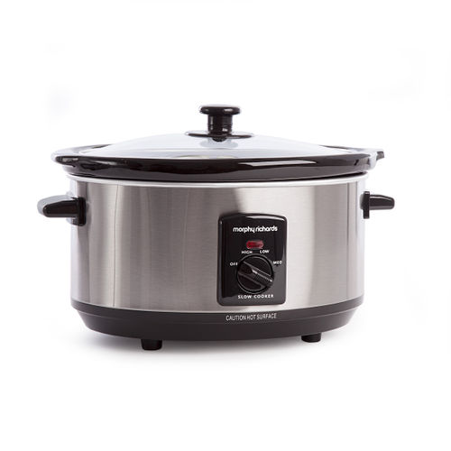 Morphy Richards 48709 Slow Cooker 3.5 Litre S/S