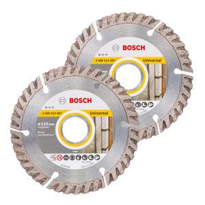 Bosch 06159975S9 Diamond Blade Twin Pack 115mm