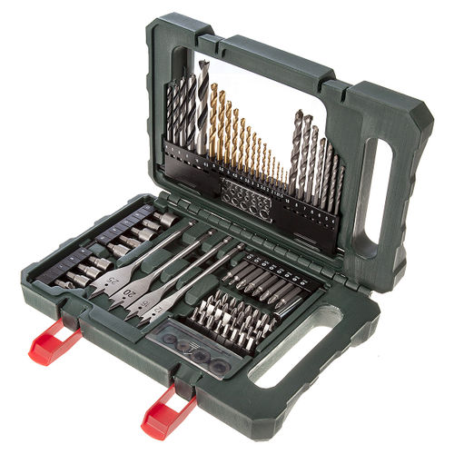 Metabo 6.26708 Assorted Drill ands Bit Set 86 Pieces