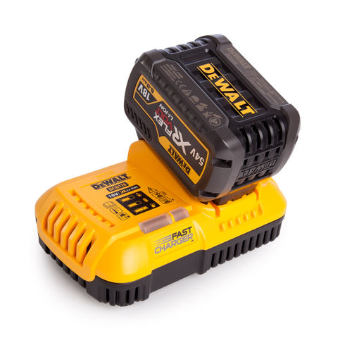 Dewalt 1 x DCB546 54V XR Flexvolt 6.0Ah Battery + DCB118 XR Fast Charger