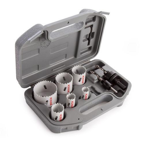 Bosch 2608580803 HSS Plumbers Holesaw Set 9 Piece