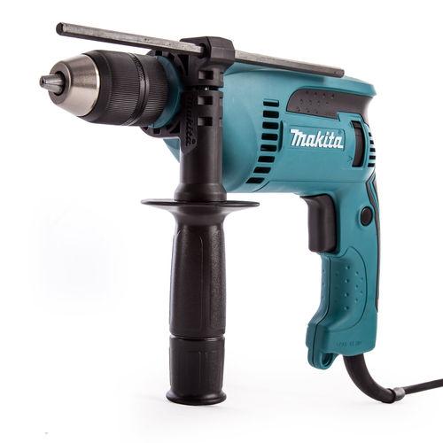 Makita HP1641 13mm 680W Percussion Drill c/w Keyless Chuck 110V