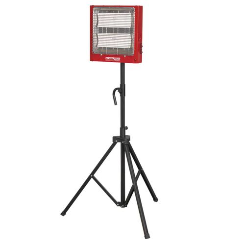 Sealey CH2800S Ceramic Heater 1.4/2.8kw 240V With Stand
