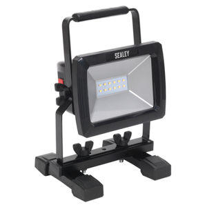 Sealey LED084 Rechargeable Portable Floodlight 10W SMD LED