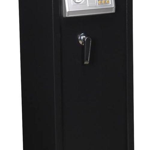 Sealey SEGS5 Gun Cabinet With Ammo Box & Electronic Lock 5 Gun Capacity