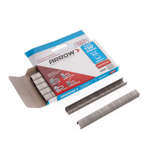 Arrow 505SS T50 Staples - Stainless Steel 8mm (Pack of 1000)