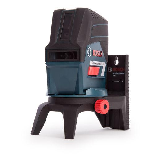 Bosch GCL 2-50 C Professional Combi Laser + RM2 Mount (4 x 1.5 V LR6 (AA) Batteries)
