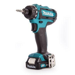 Makita DF031DWAE Drill Driver 10.8V CXT Cordless Li-ion (2 x 2.0Ah Batteries)