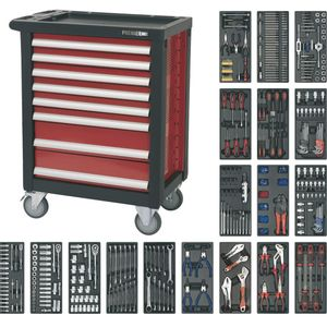 Sealey AP2408TTC08 Rollcab 8 Drawer With Ball Bearing Runners & 707pc Tool Kit