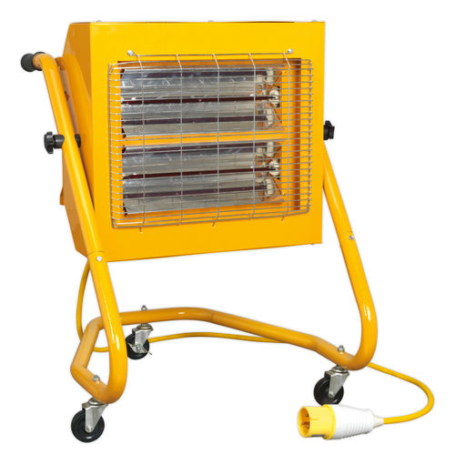 Sealey IRS153110V Infrared Heater 1.5/3.0kw 110V