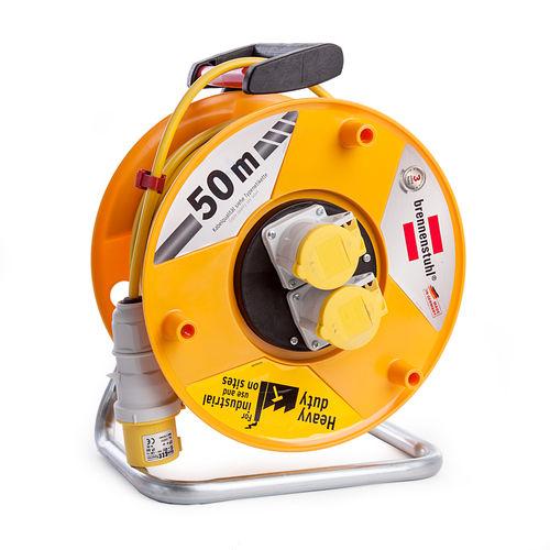 Brennenstuhl 1138873 Garant CEE 2 Cable Reel 50m 110V