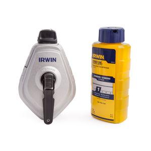 Irwin 10507684 Strait-Line Mach 6 Reel + Blue Chalk