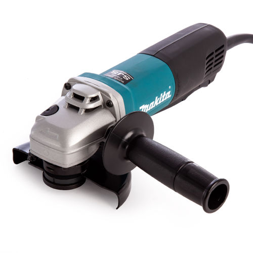 Makita 9565PZ Angle Grinder with Paddle Switch 125mm / 5 Inch 240V