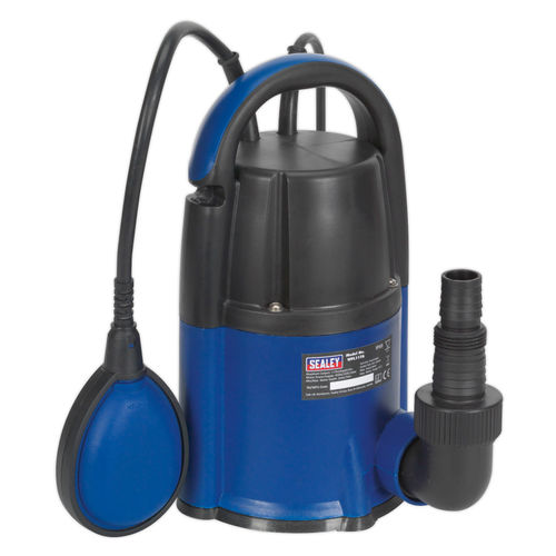 Sealey WPL117A Submersible Water Pump Automatic Low Level 2mm 117ltr/min 240V