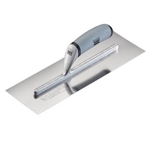 Ragni R618S-14HL Feather Edge Stainless Finishing Trowel (High Lift) 14 Inch