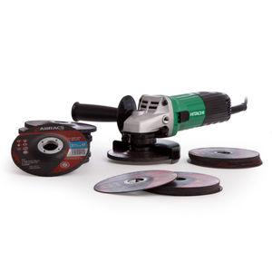 Hitachi 115mm Grinder 110V + 30 Discs