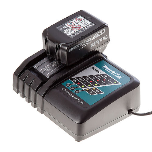 Makita DC18RC Charger + BL1840 4Ah Battery