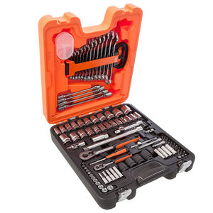 Bahco S87+7 Socket Set 1/4 and 1/2 Inch Drive 94 Piece