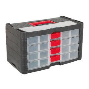 Sealey AP794 Stackable Organizer 4 Drawer