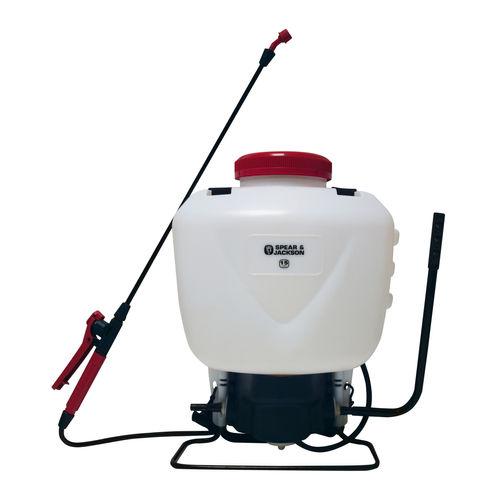 Spear & Jackson 15LPAPS Backpack Style Pump Action Pressure Sprayer 15L
