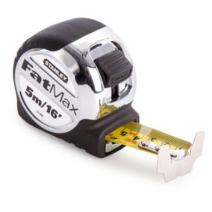 Stanley 5-33-886 5m / 16ft FatMax Xtreme Metric / Imperial Tape Measure with 32mm Blade