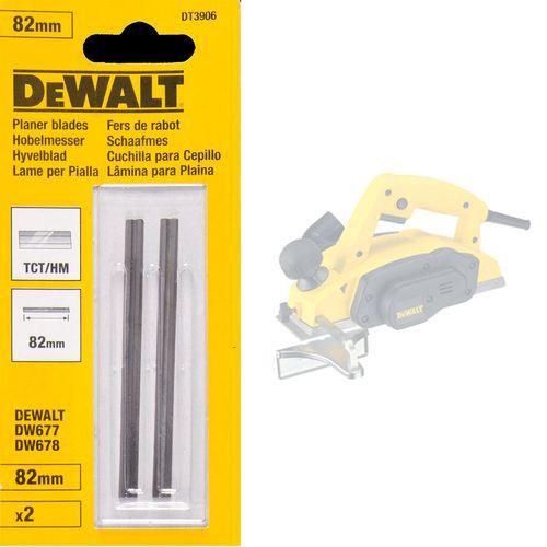 Dewalt DT3906 TCT Planer Blades 82mm (Pack Of 2)