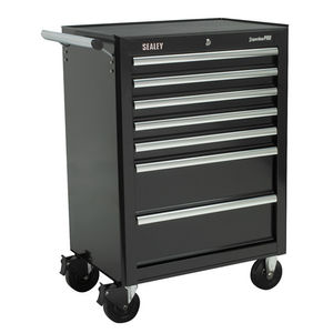 Sealey AP26479TB Rollcab 7 Drawer With Ball Bearing Runners - Black