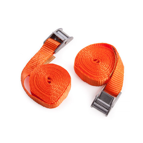 BlueSpot 45404 2.5M Cam Buckle Tie Downs (Pack Of 2)