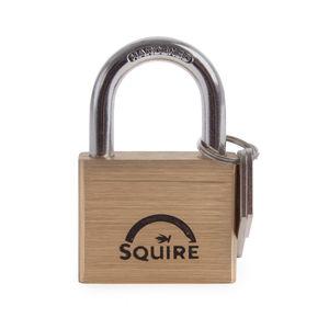 Henry Squire LN5 Premium Brass 5 Pin Double Locking Padlock 50mm