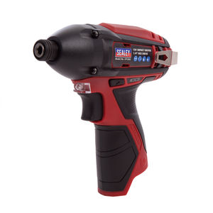 "Sealey CP1203 12V Impact Driver 1/4""Hex Drive 80nm (Body Only)"