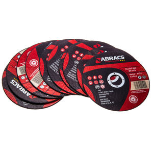Abracs Proflex PFET12510FI Extra Thin INOX Cutting Disc 125 x 1.0 x 22mm (10 Pack)